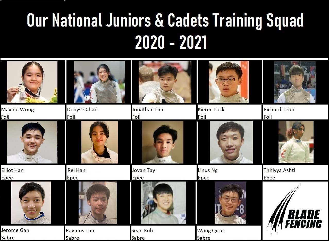 National Juniors & Cadets Training Squad